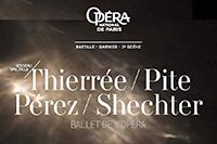 Quatre Chorégraphes d'aujourd'hui à l'Opéra de Paris