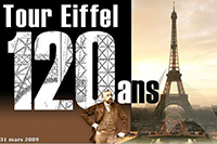 Spectacle « 120 ans de la Tour Eiffel »