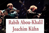 Concert « Rabih Abou-Khalil et Joachim Kuhn »